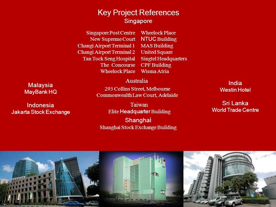 Key Project References