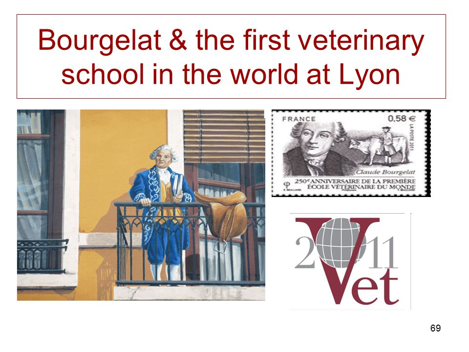 Bourgelat & the first veterinary school in the world at Lyon