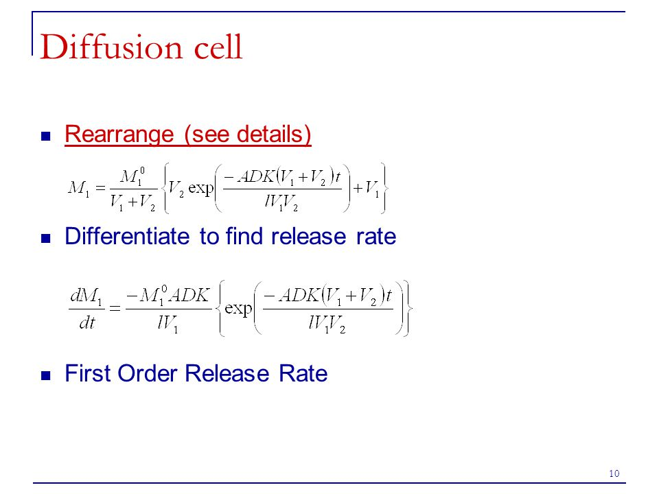 Diffusion cell Rearrange (see details)