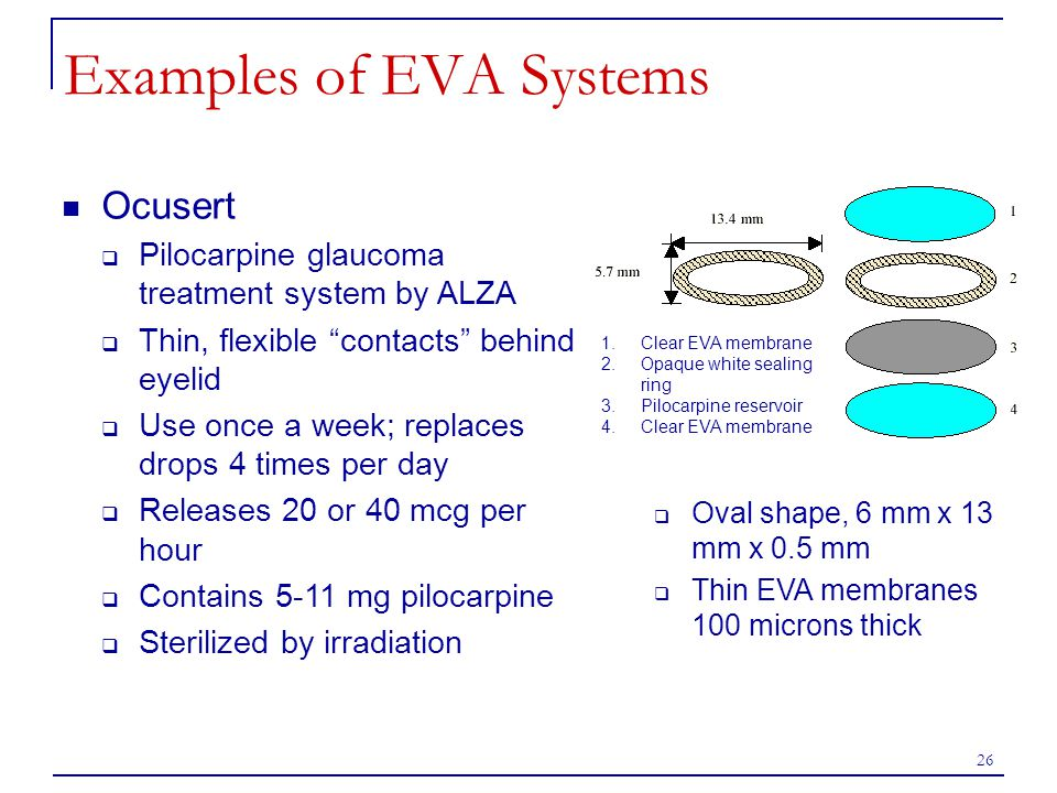 Examples of EVA Systems