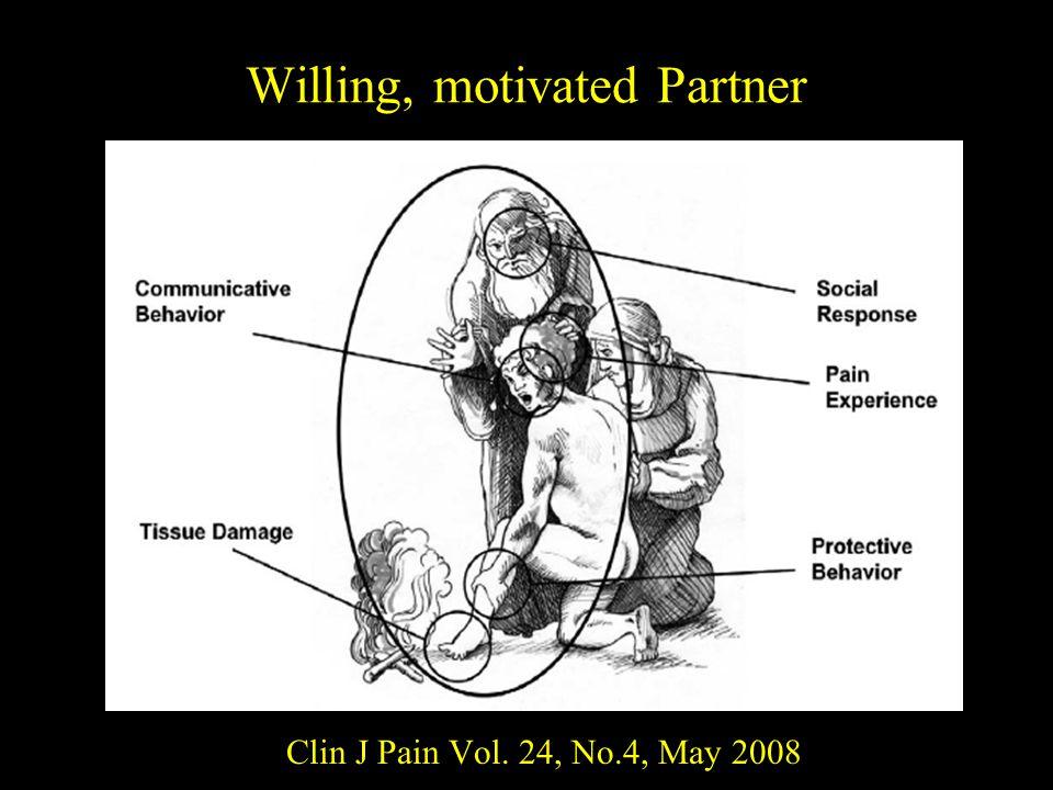 Willing, motivated Partner