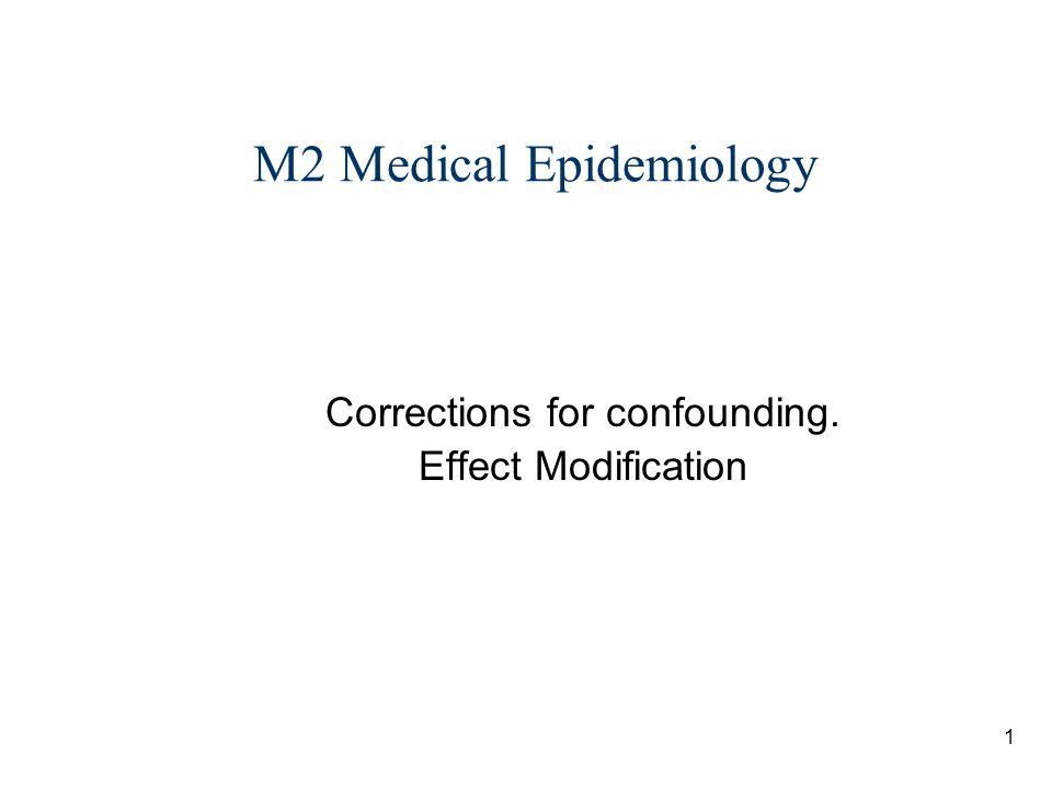 M2 Medical Epidemiology