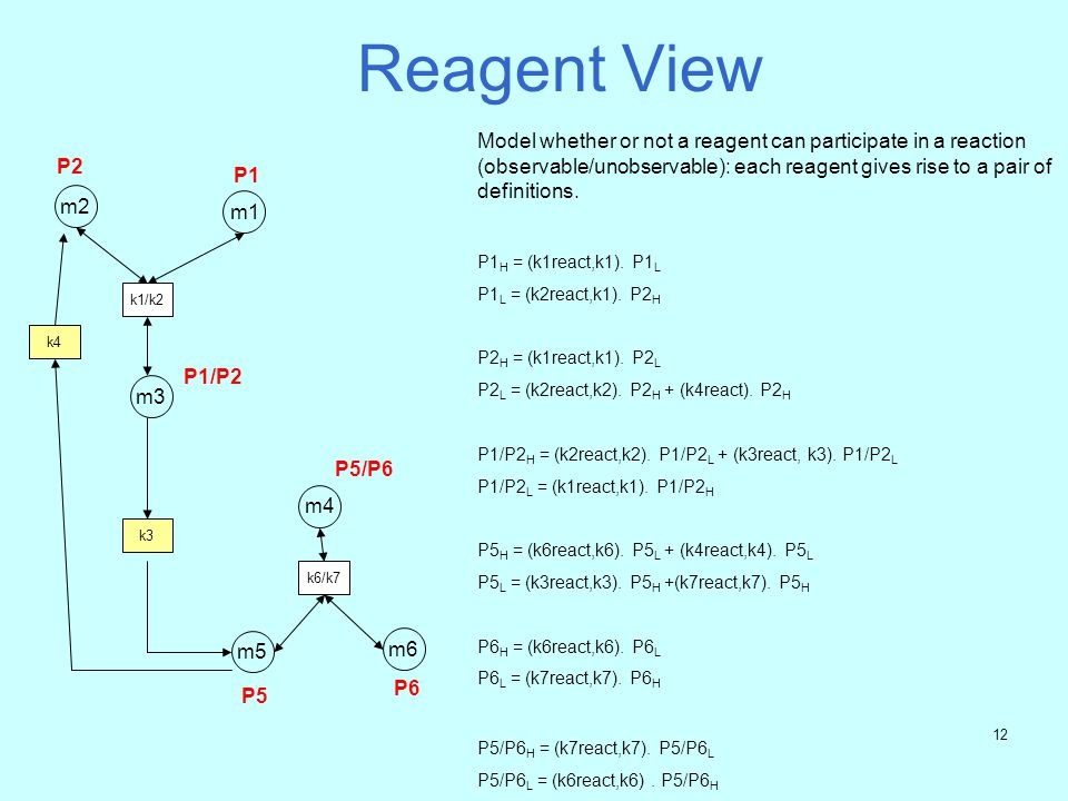 Reagent View