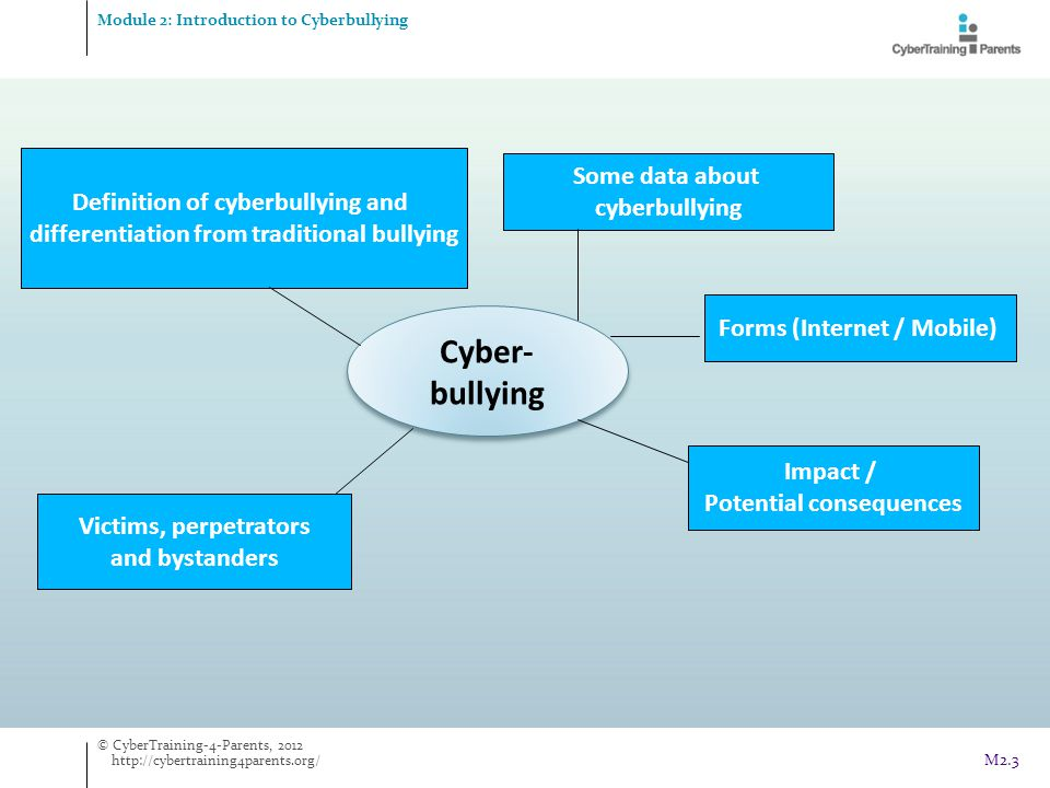 Cyber- bullying Some data about cyberbullying
