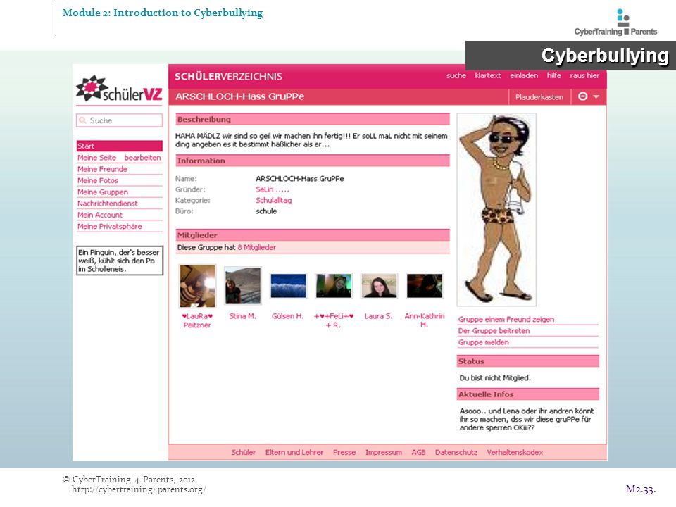 Module 2: Introduction to Cyberbullying