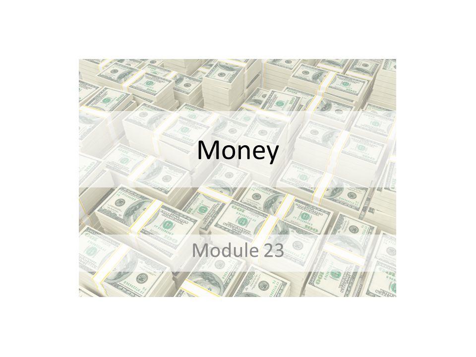 Money Module 23