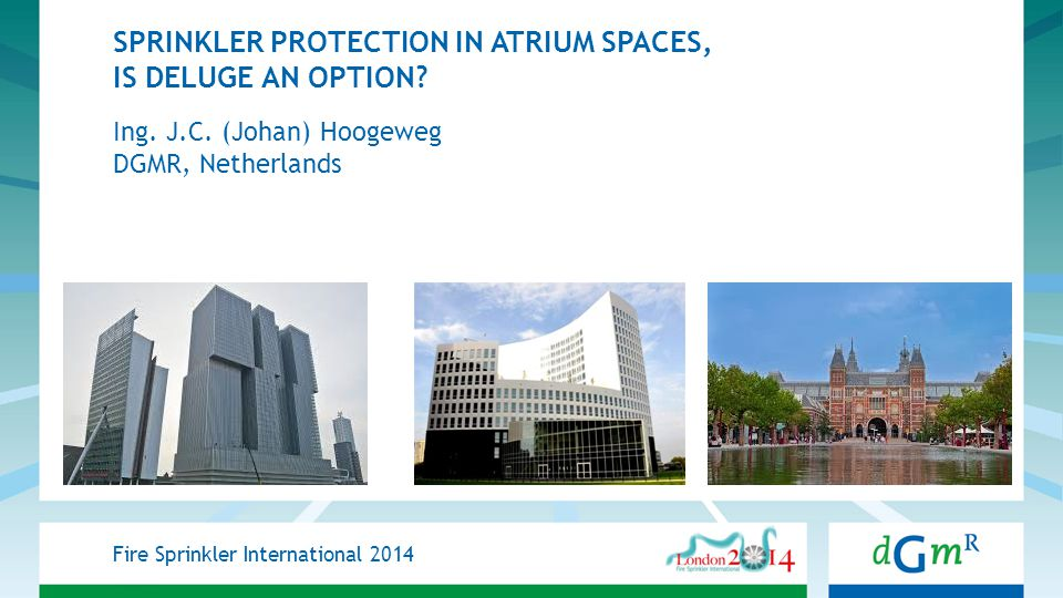 SPRINKLER PROTECTION IN ATRIUM SPACES, IS DELUGE AN OPTION