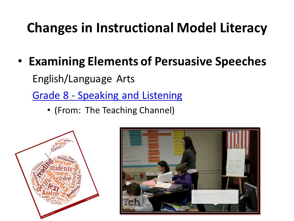 Changes in Instructional Model Literacy