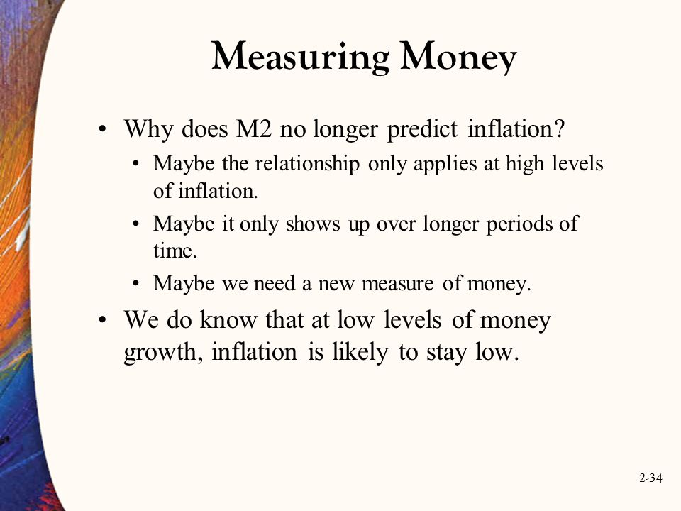 Measuring Money Why does M2 no longer predict inflation