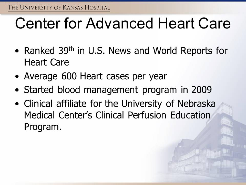 Center for Advanced Heart Care