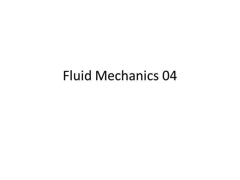 Fluid Mechanics 04