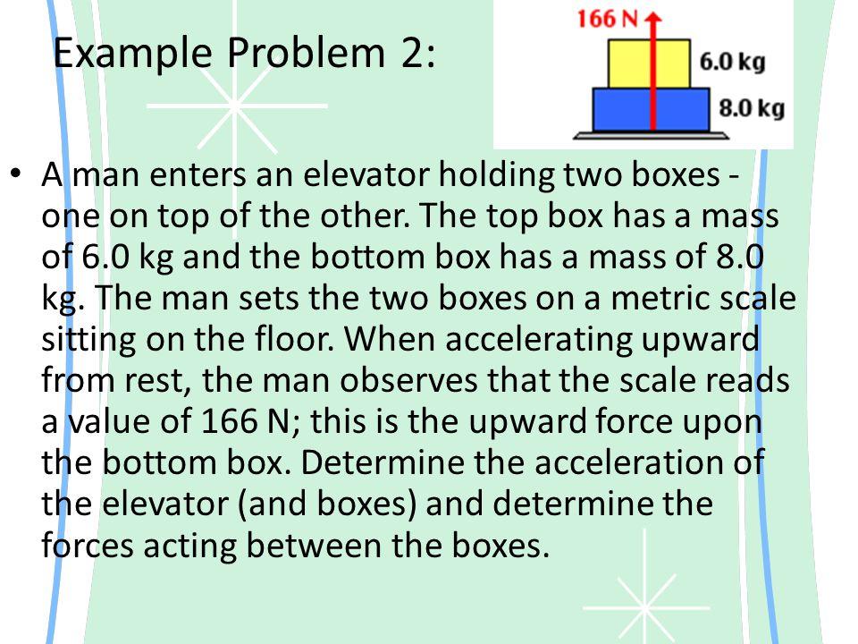 Example Problem 2: