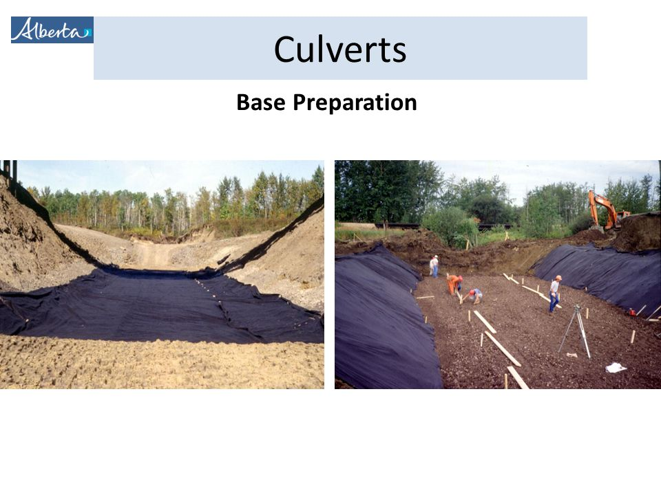 Base Preparation Geotextile used to stabilize soft foundations