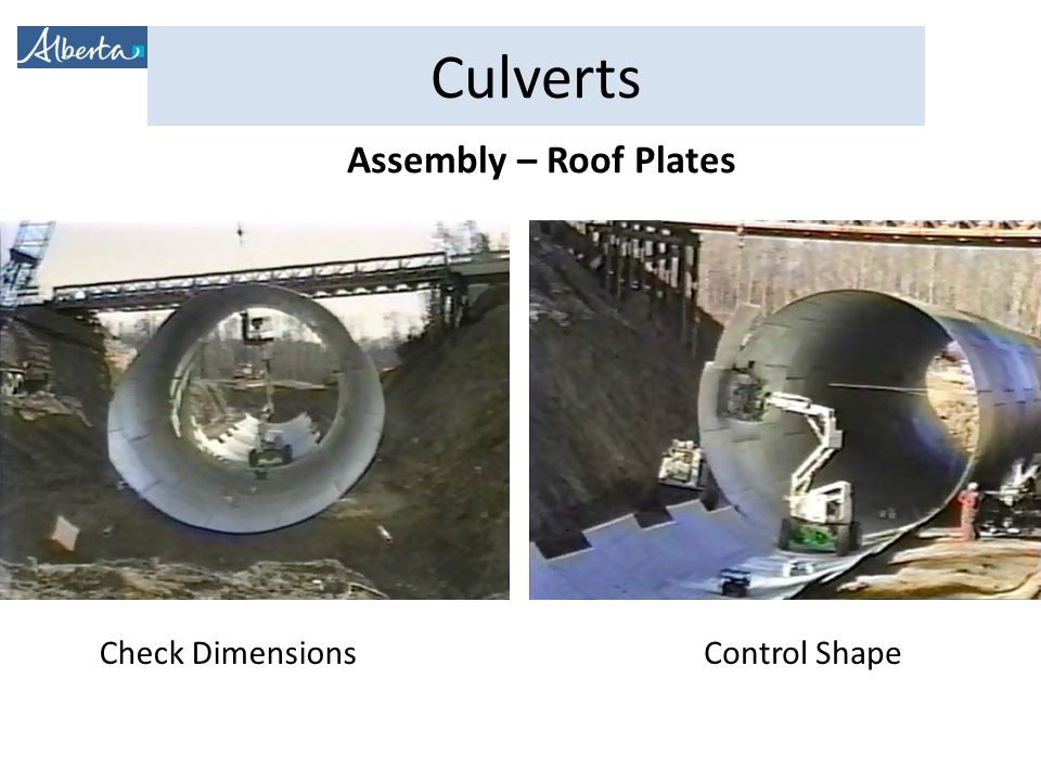 Assembly – Roof Plates Check Dimensions Control Shape