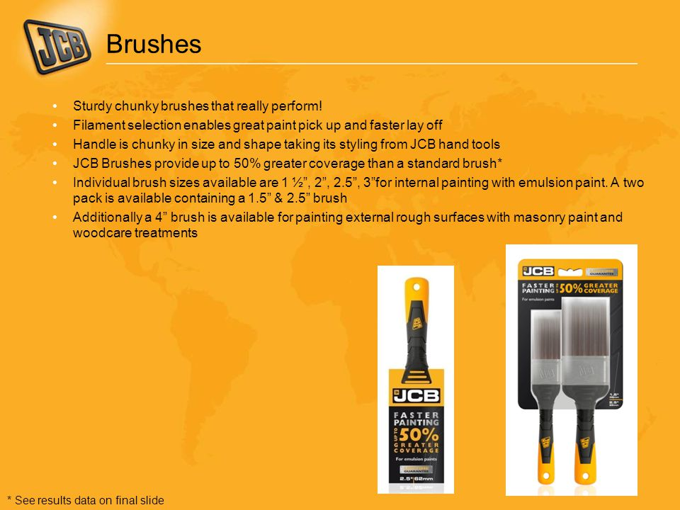 Brushes Sturdy chunky brushes that really perform!