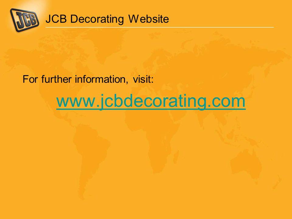 JCB Decorating Website