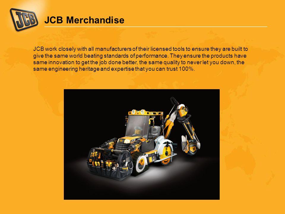 JCB Merchandise