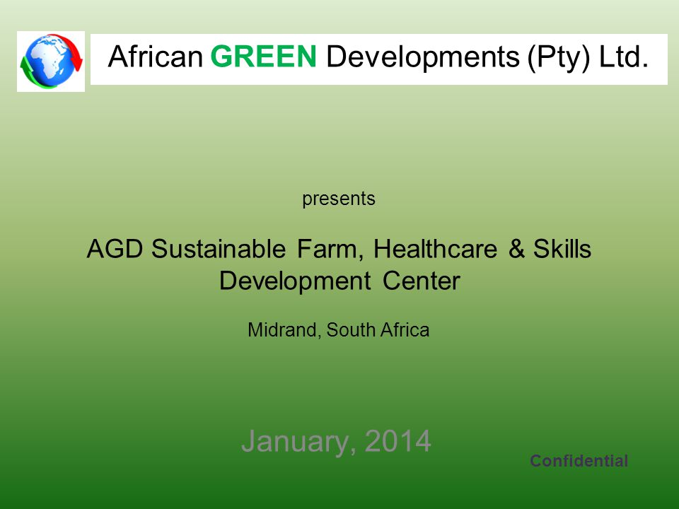 African GREEN Developments (Pty) Ltd.
