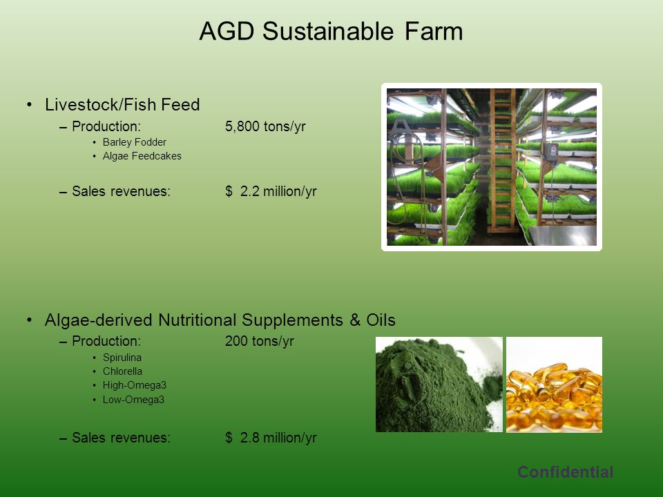 AGD Sustainable Farm Livestock/Fish Feed