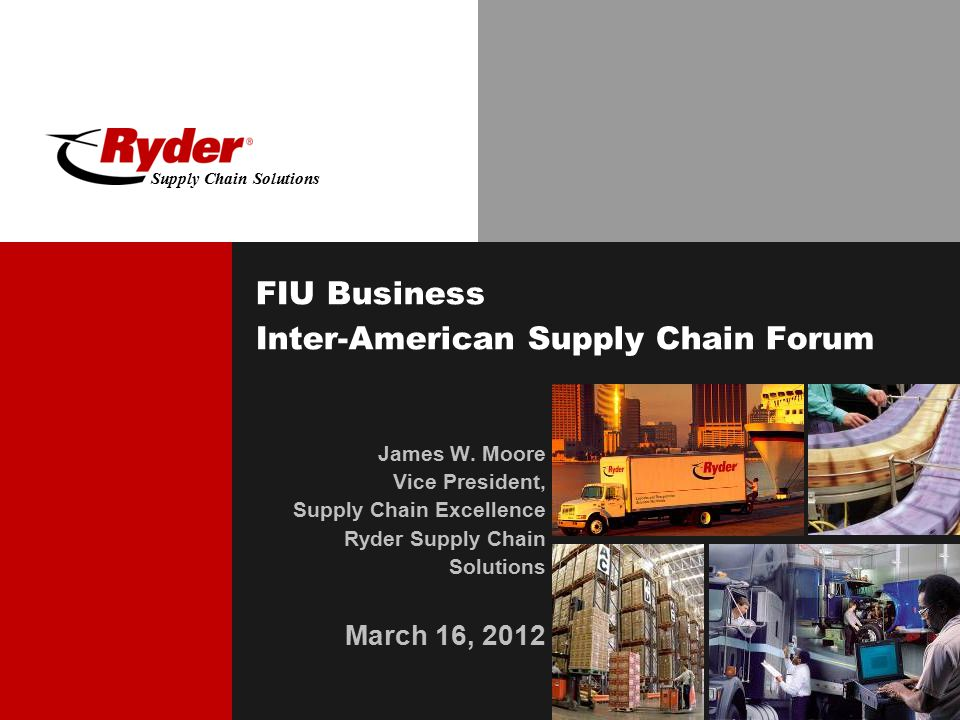 FIU Business Inter-American Supply Chain Forum