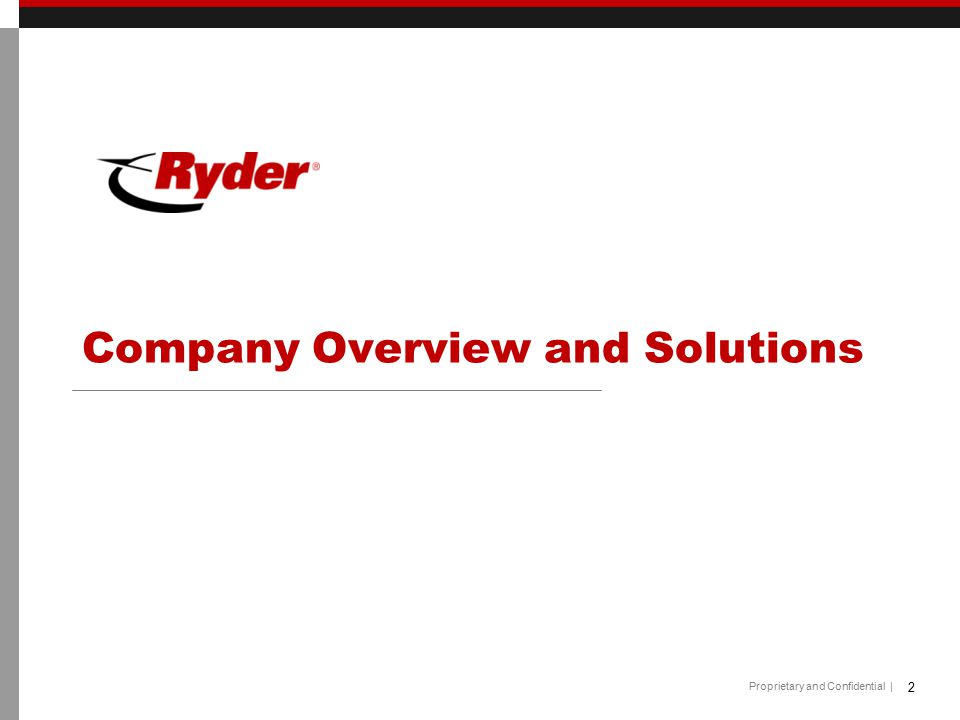 Company Overview and Solutions