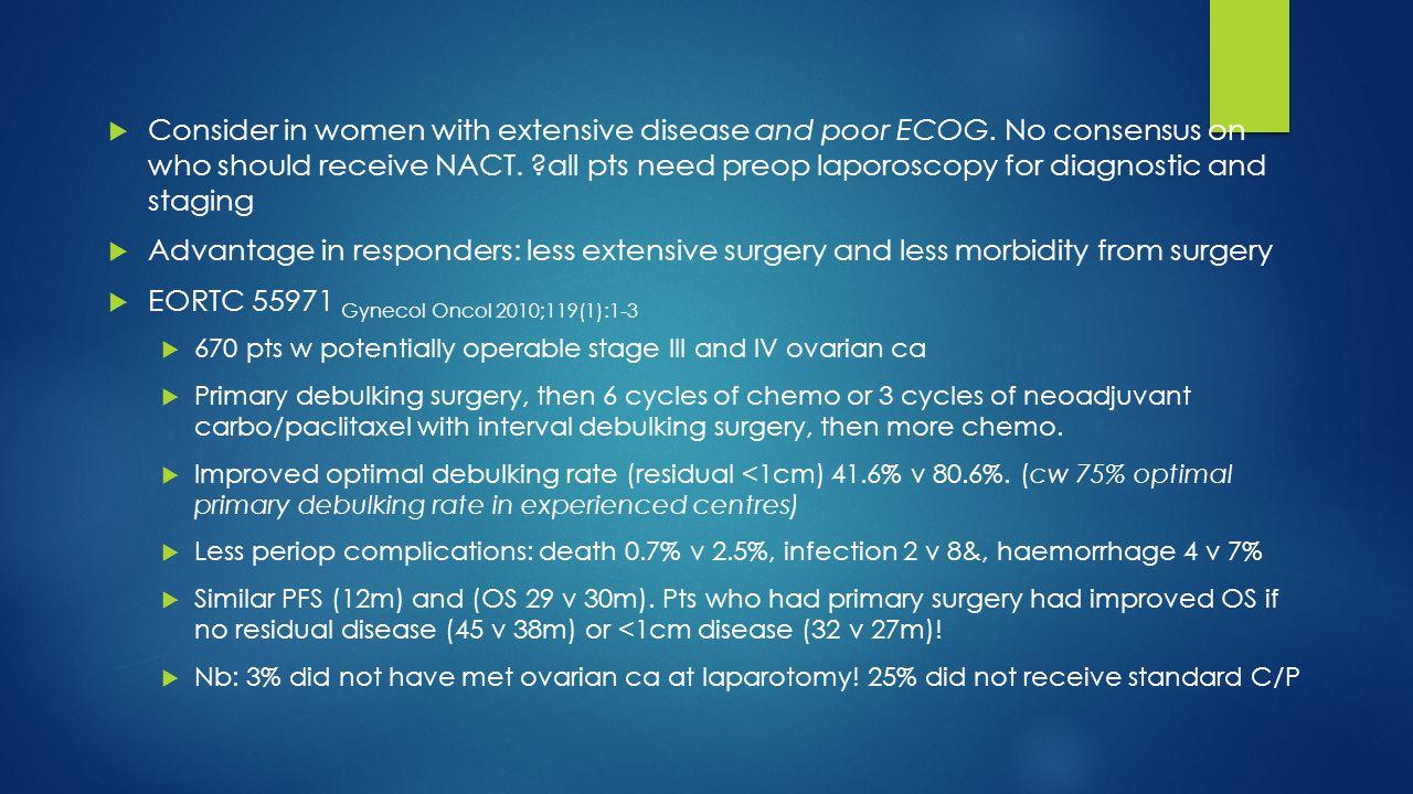 EORTC 55971 Gynecol Oncol 2010;119(1):1-3