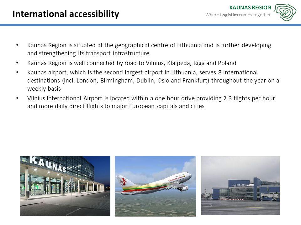 International accessibility