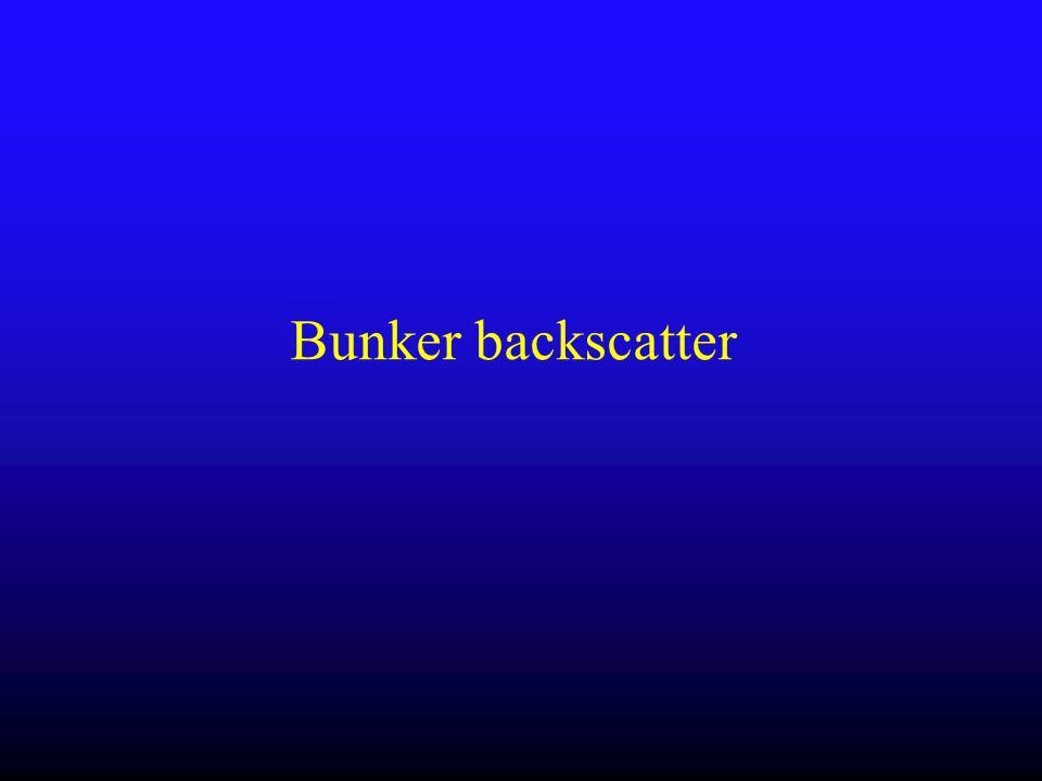 Bunker backscatter