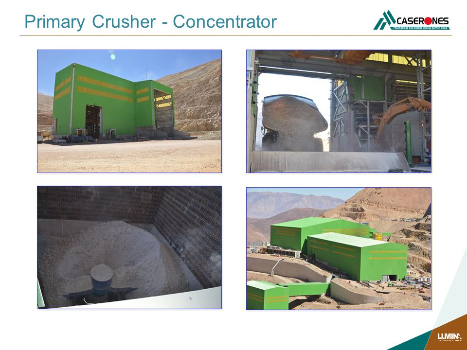 Primary Crusher - Concentrator