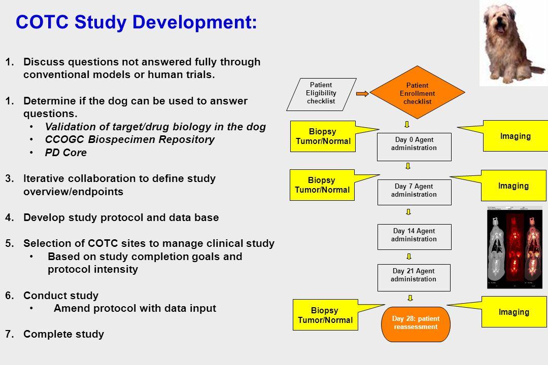 COTC Study Development:
