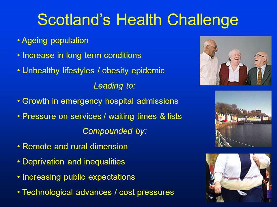 Scotland's Health Challenge