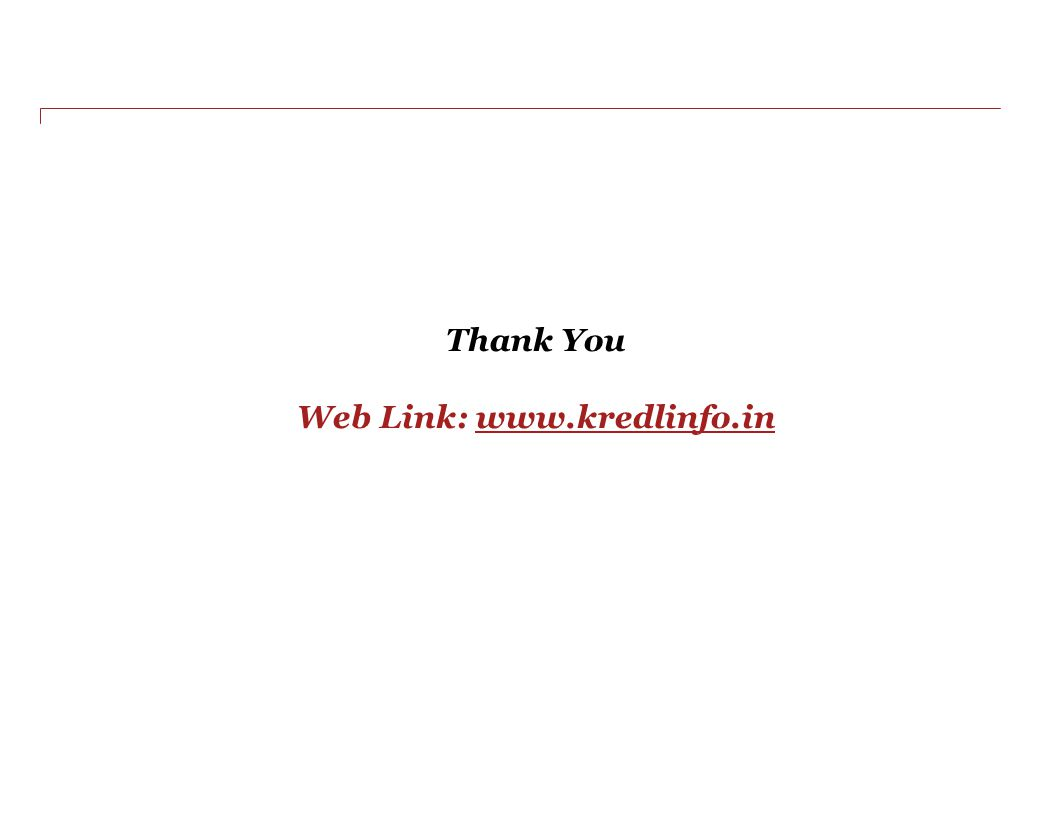 Thank You Web Link: www.kredlinfo.in