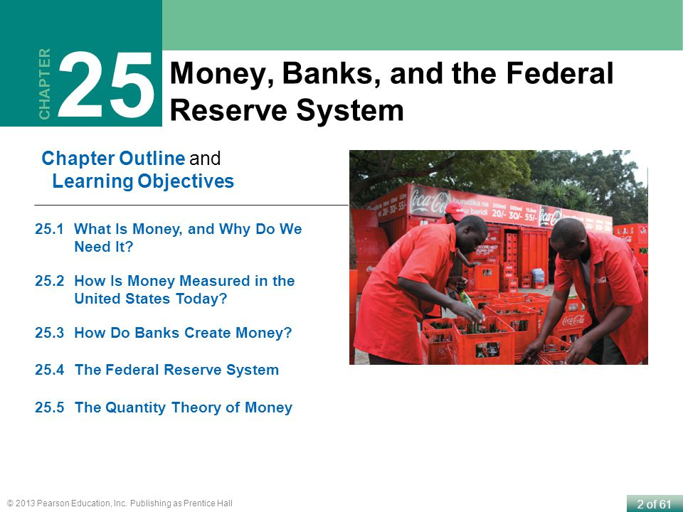 25 Money, Banks, and the Federal Reserve System Chapter Outline and