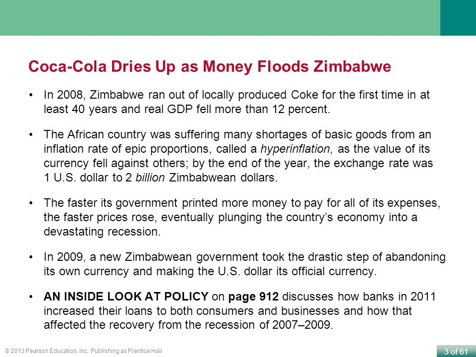 Coca-Cola Dries Up as Money Floods Zimbabwe