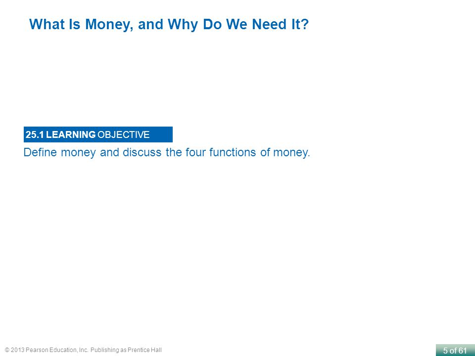 What Is Money, and Why Do We Need It