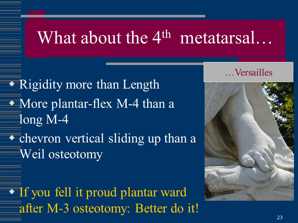 What about the 4th metatarsal…