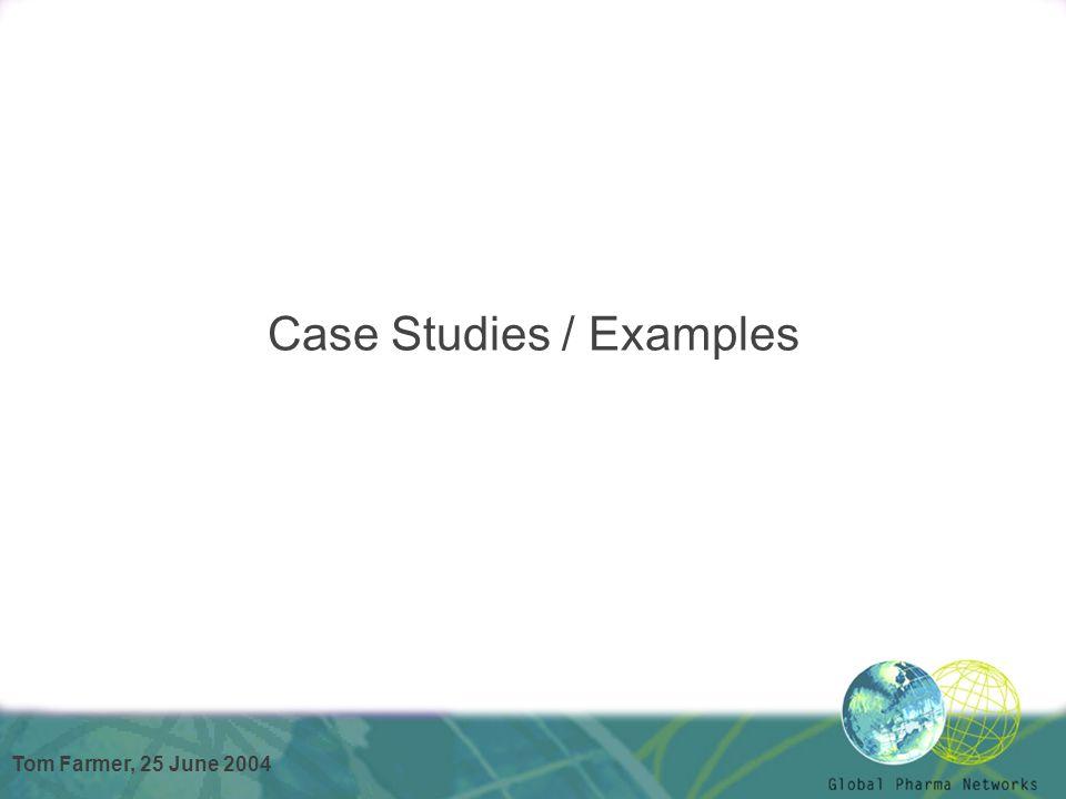 Case Studies / Examples