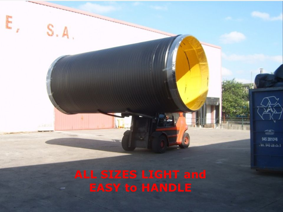 ALL SIZES LIGHT and EASY to HANDLE