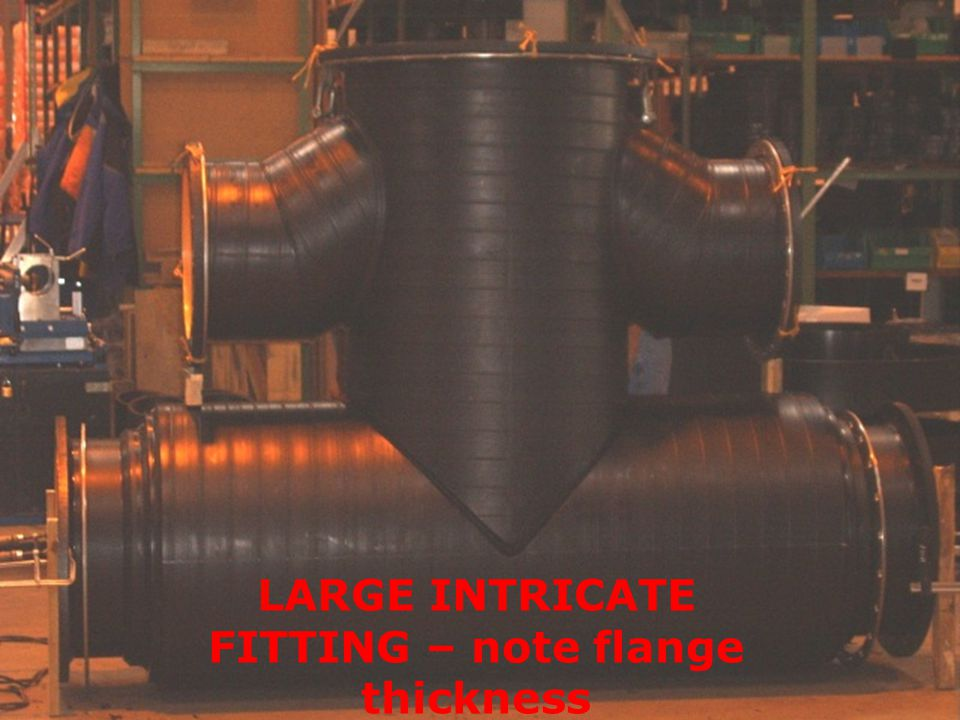 LARGE INTRICATE FITTING – note flange thickness