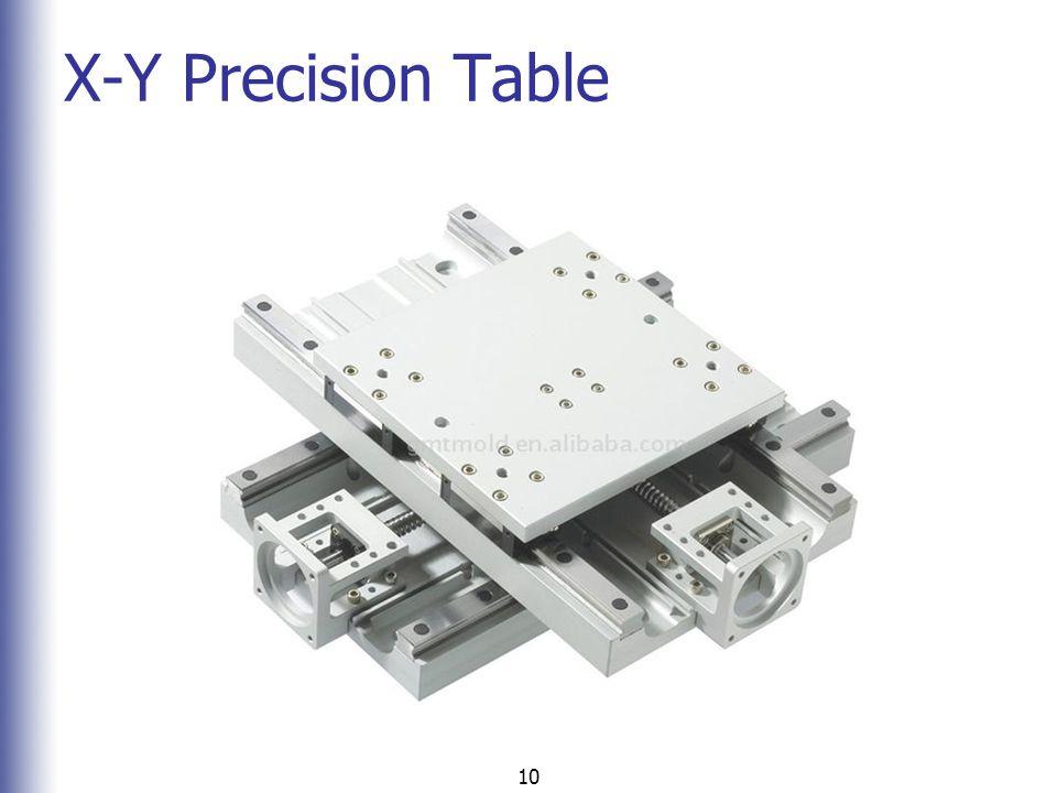 X-Y Precision Table