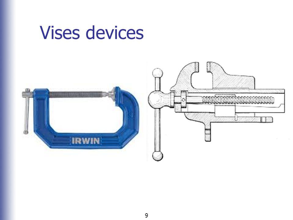 Vises devices