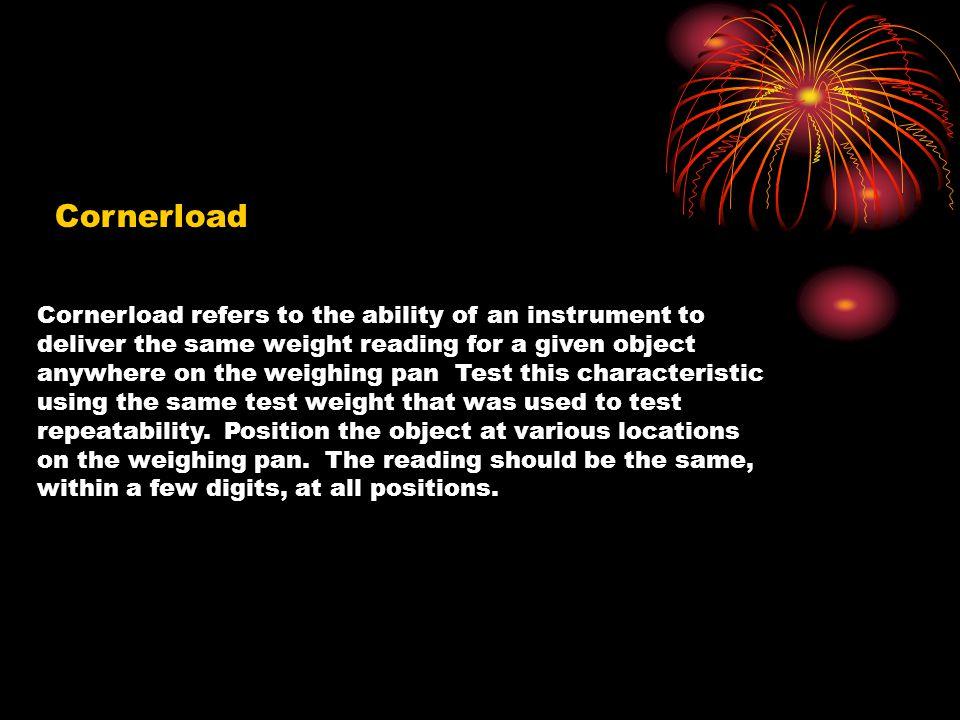 Cornerload