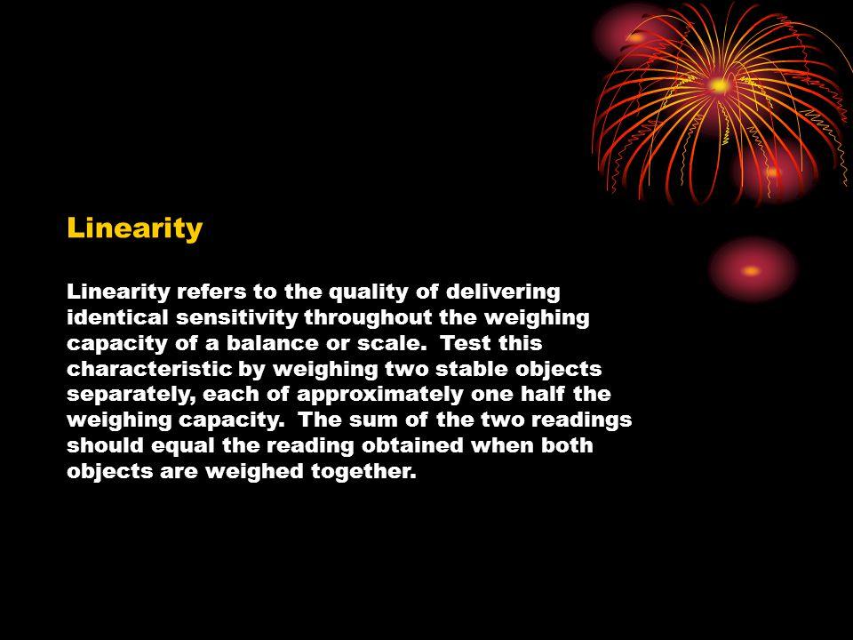 Linearity