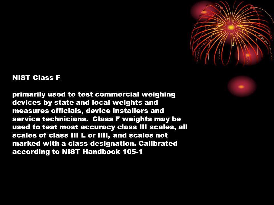 NIST Class F