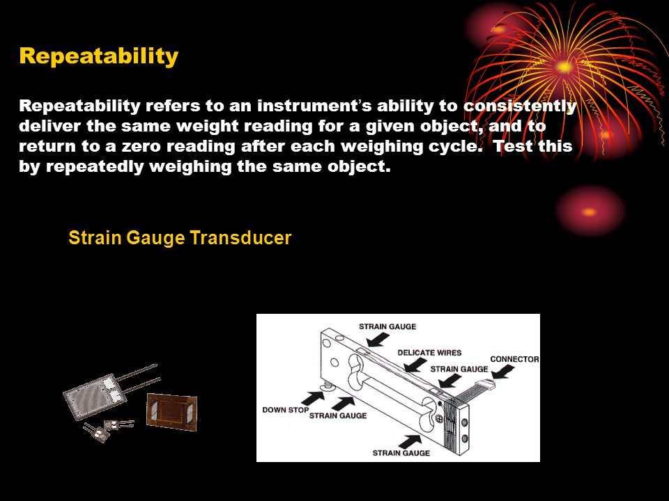 Repeatability Strain Gauge Transducer
