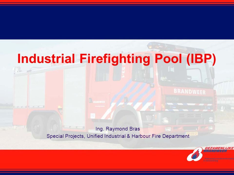 Industrial Firefighting Pool (IBP)