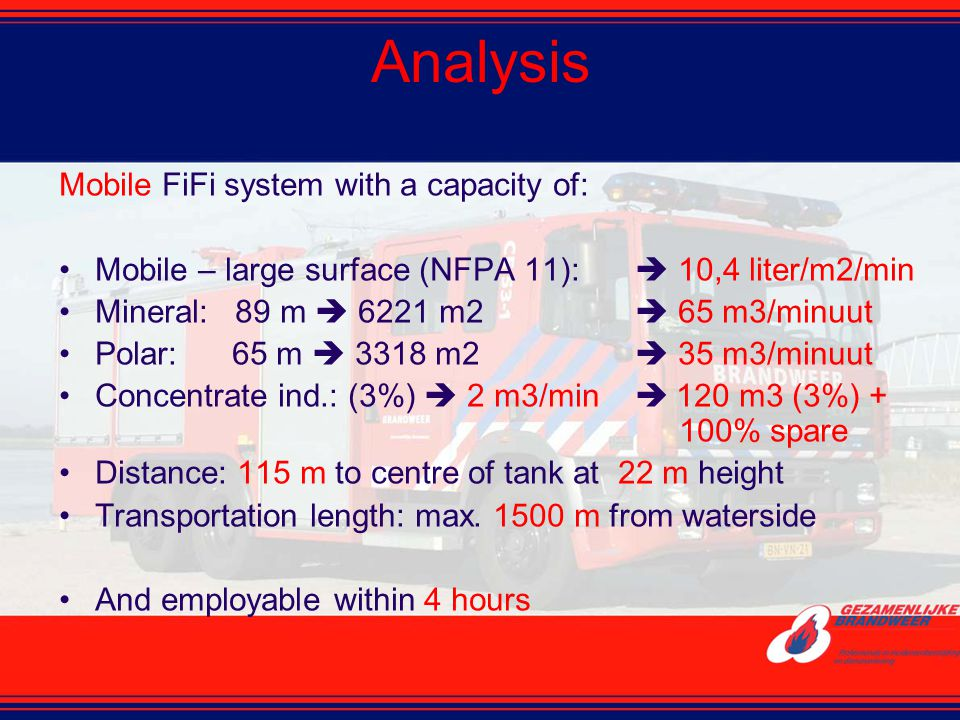 Analysis Mobile FiFi system with a capacity of: