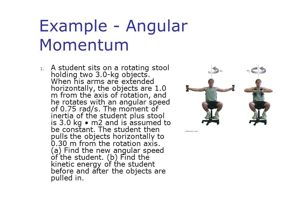 Example - Angular Momentum