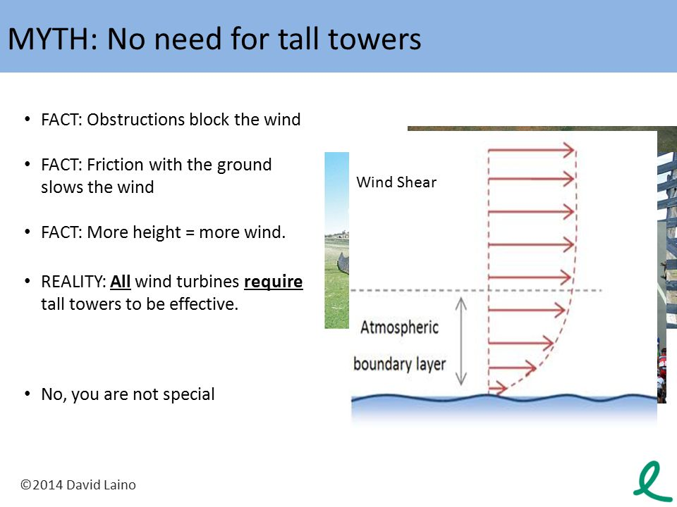 MYTH: No need for tall towers