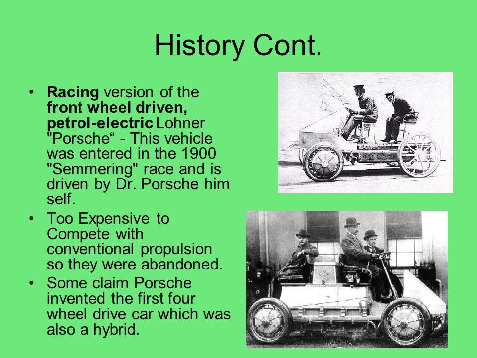History Cont.